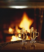 Two hot toddies by the fire