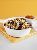 Rice Pilaf with Parsley, Dried Cranberries and Golden Raisins