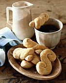 Cup of Tea with Assorted Italian Cookies