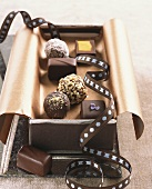 Mixed Gourmet Chocolates in a Gift Tin