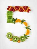 Number 5 in fresh fruit and vegetables