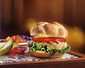 Chicken breast filet sandwich