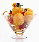 Orange Dessert Dish
