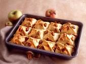 Apple Walnut Puff Pastry