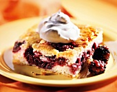 Blackberry Pan Cake