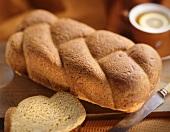 A plaited loaf