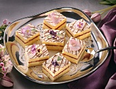 Lemon Tea Cakes on Tray