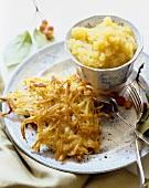 Potato Recipes; Latkas; Potato Pancakes