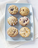 Six different muffins