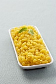 Elbow Macaroni in a Rectangular Dish
