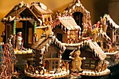 A Variety of Gingerbread Houses