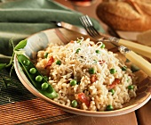 Rissotto with Peas and Pancetta