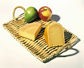 Still Life: Irish Chesses on Bamboo Tray