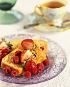 Pound Cake with Fresh Berries