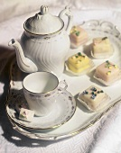 Petit Fours with Tea Service