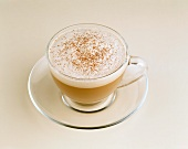 A Cup of Cappuccino with Cinnamon