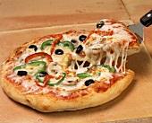 Serving Pizza