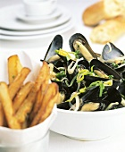 Mussels with Fries