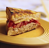 Grilled Cheese, Turkey and Tomato Sandwich
