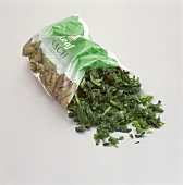Bag of Defrosted Spinach