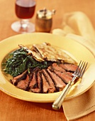 Grilled Sliced Flank Steak