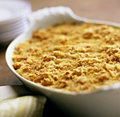 Baked Macaroni and Cheese with Breadcrumb Topping