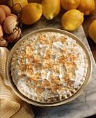 Lemon Meringue Pie with Toasted Coconut