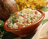 Red Potato Salad in a Bowl