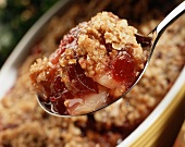 A Spoonful of Cranberry Apple Crisp