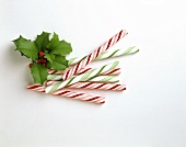 Candy Canes and Holly