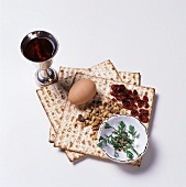 Traditional Passover Seder Foods