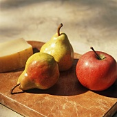 Still Life: Fruit with Cheese