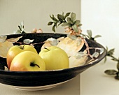 Golden Delicious Apples in a Bowl