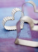 Three Assorted Heart Shaped Cookie Cutters