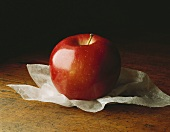 A Single Rome Apple on Tissue Paper