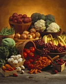Large Fruit and Vegetable Still Life