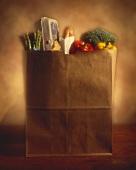 Paper Bag of Groceries
