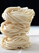Three Chinese Noodle Nests Stacked
