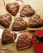 Chocolate Valentine Hearts