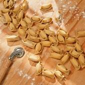 Fresh Tortellini with Pasta Cutter