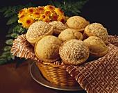 Basket of High Fiber Muffins