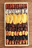 Dried Fruit Tray with an Assortment of Dried Fruit