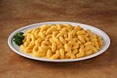 Macaroni and Cheese auf Teller