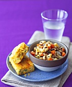 Cornbread with Black-eyed Peas