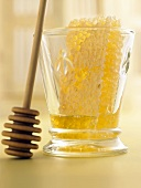 Honeycomb in a Glass with Dipper