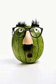 Lustiges Wassermelonengesicht