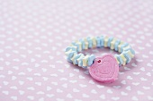 Candy Bracelet with Candy Heart Charm