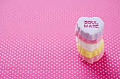 Small Stack of Conversation Heart Candies, Soul Mate