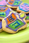 Dreidel Cookies