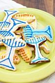 Menorah Cookies